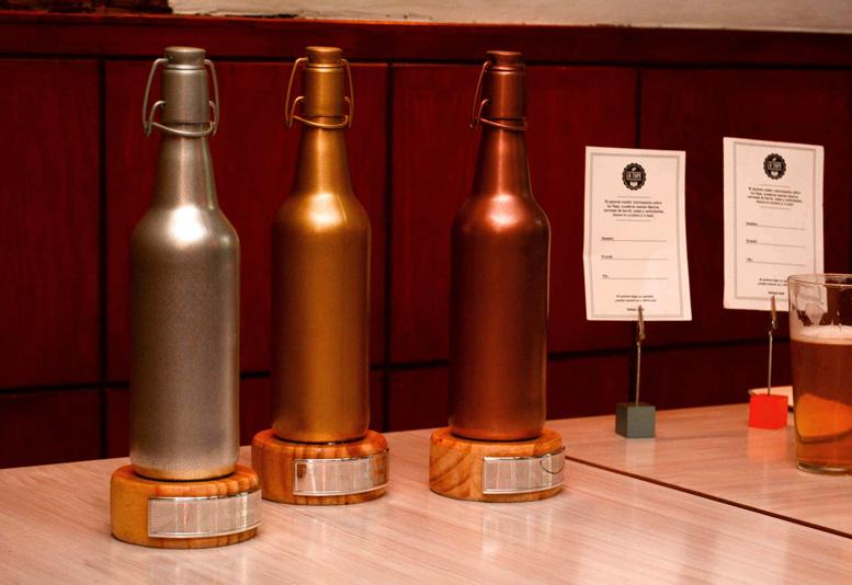 Premios, Diplomas y Trofeos del Concurso Homebrewer de Cerveza Casera