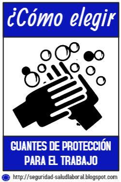 Cómo escoger o elegir guantes de protección