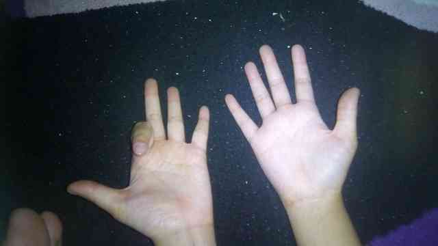 cara perkalian 9 dengan jari