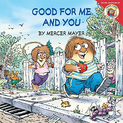 Little Critter: Good For Me And You, part of children's book review list about picky eaters