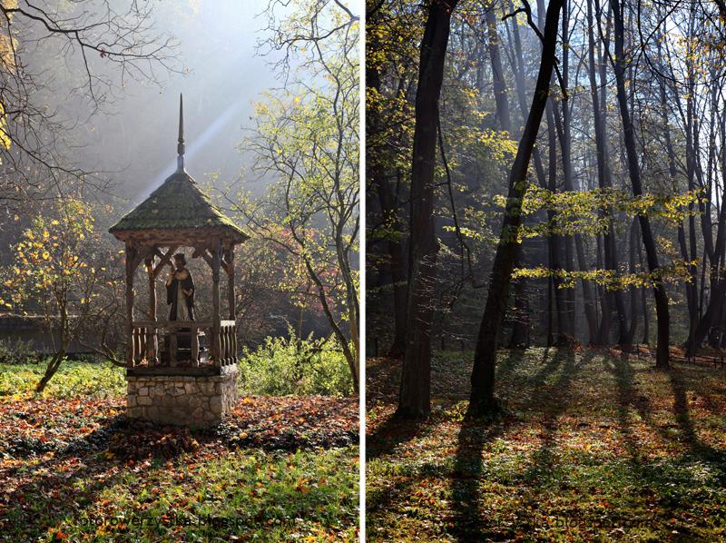 Ojców, Ojcowski Park Narodowy, małopolskie, Dolina Prądnika, kapliczka