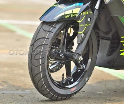 Modifikasi Yamaha NMAX 150 Bergaya VR46 Valentino Rossi