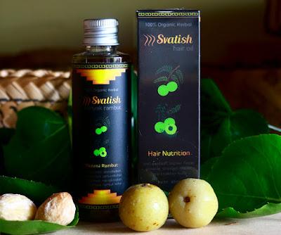 Minyak Svatish Nutrisi Rambut Dan Kulit Kepala