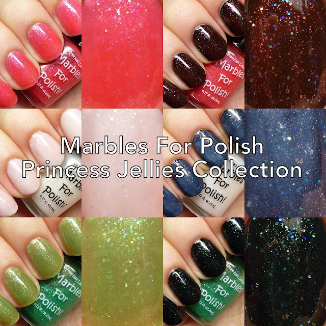 Marbles For Polish Princess Jellies Collection