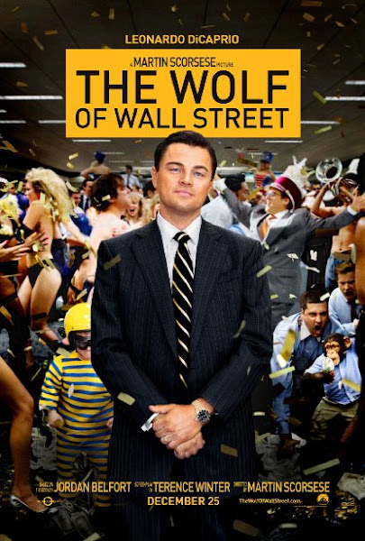 Poster Of The Wolf Of Wall Street 2013 720p English BRRip Full Movie Download