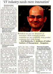 Interview in BusinessLine