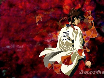 Wallpaper - Rurouni Kenshin - Sagara Sanosuke - 2