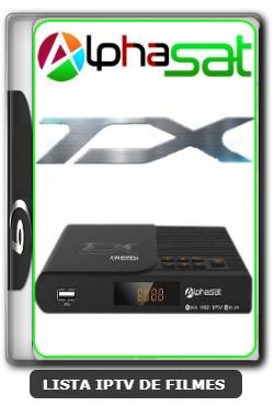 Alphasat TX Nova Atualização 63w e Busca no APP YouTube V12.07.22.S75 - 25-07-2020