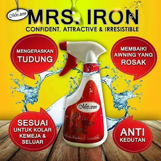 MRS IRON SPRAY PENGERAS TUDUNG