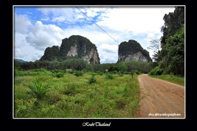 Khao Phanombencha, huay to waterfall, krabi, phuket, thailand, travel, backpacking, air terjun