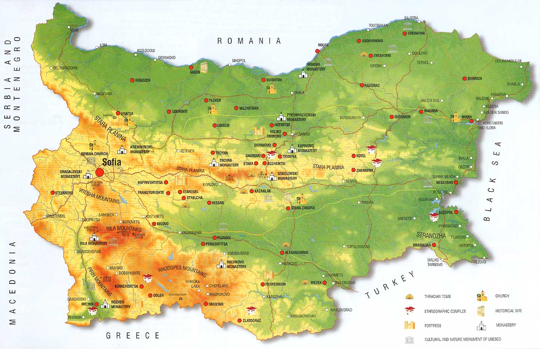 Karta 2019 Blgarska Karta Na Blgariya