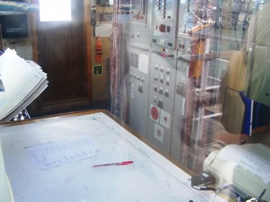 Laivo šturmano darbo vieta
