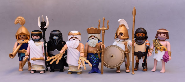 PLAYMOBIL CUSTOM FIGURE ANCIENT GREECE