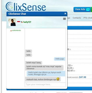 IMG 20170615 113233 Fitur Chat ClixSense memudahkan member untuk saling berkomunikasi