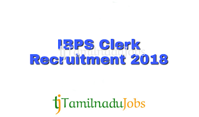 IBPS CRP Clerks notification 2018