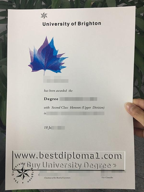 Brighton University diplomas