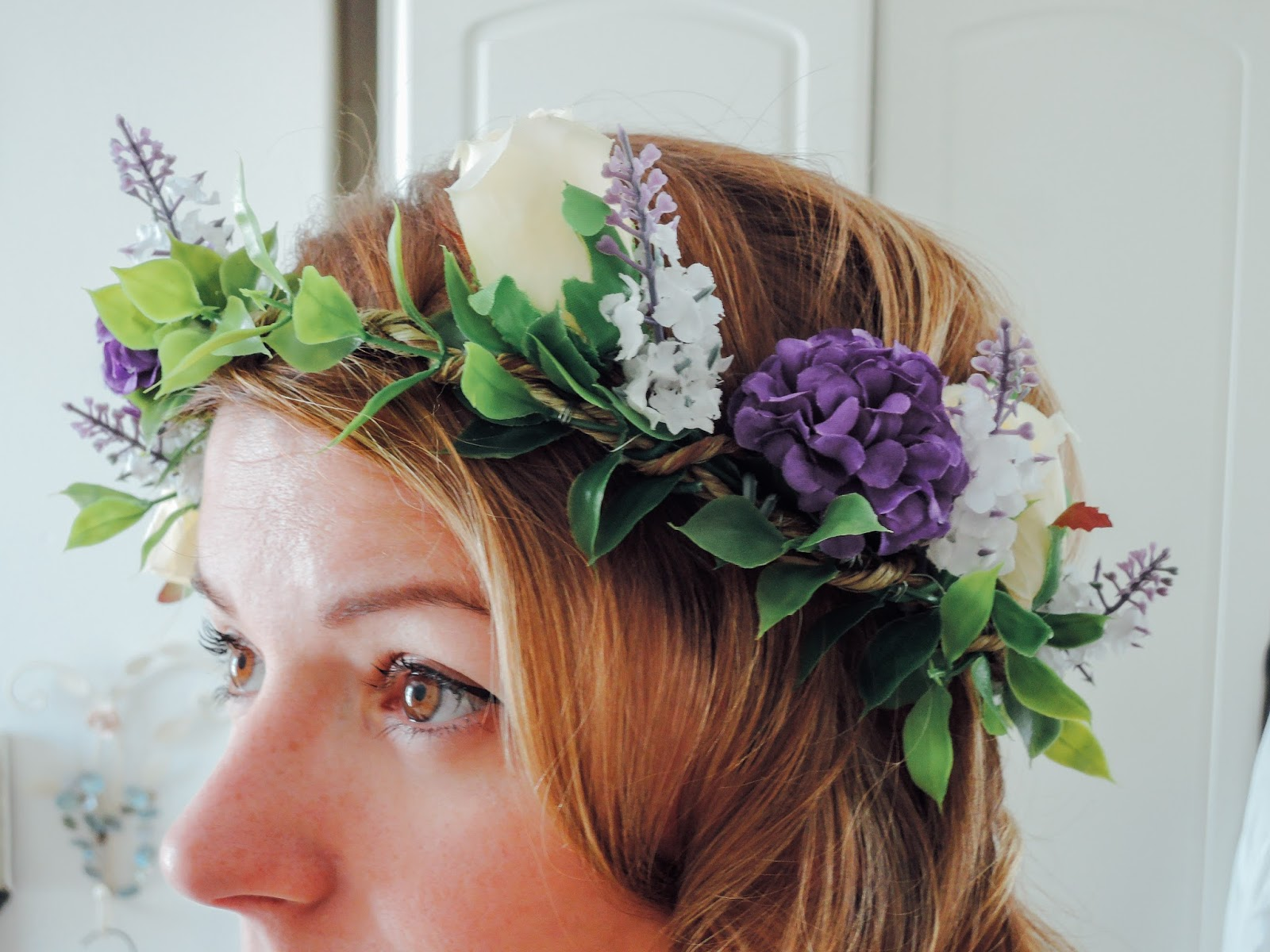 A Handmade Cottage How To Make A Flower Crown For Weddings