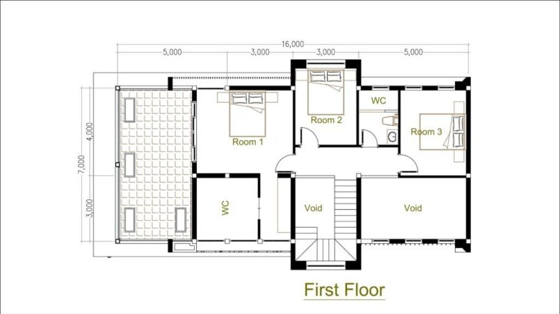 3 Bedroom House Plan Indian Style Best House Plan Design