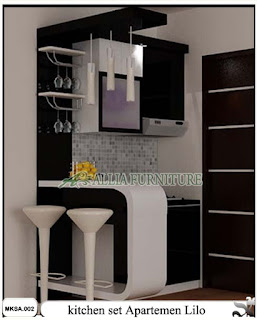kitchen set apartemen minimalis lilo
