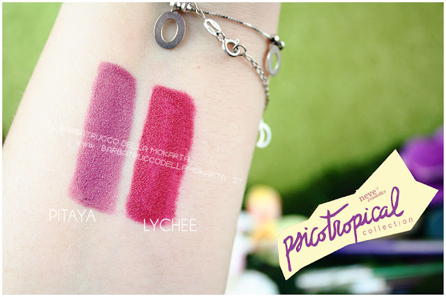 biopastello labbra lippencil psicotropical collection neve cosmetics nuova formula swatches
