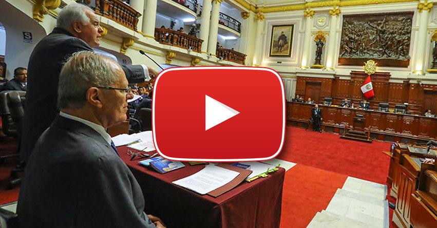 EN VIVO - VACANCIA PRESIDENCIAL: Sigue el debate en el Congreso de la República - ONLINE