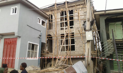 Ikeja collapsed building: No loss of life, one injured – LASEMA (Photos)
