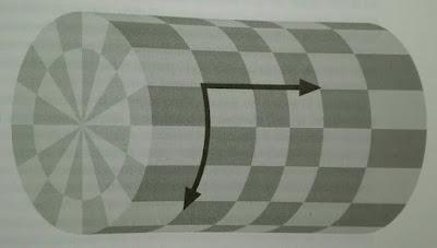 Dimension extra enrollada en un circulo