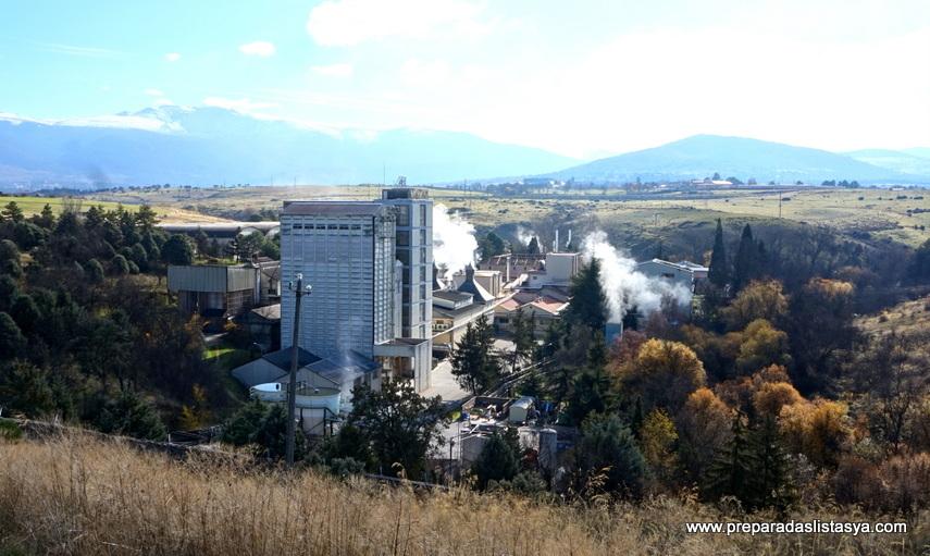 Fábrica Dyc Segovia