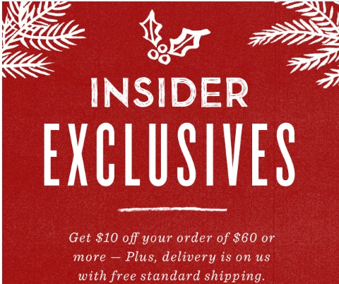Starbucks Insider Exclusive $10 Off + Free Shipping Promo Code