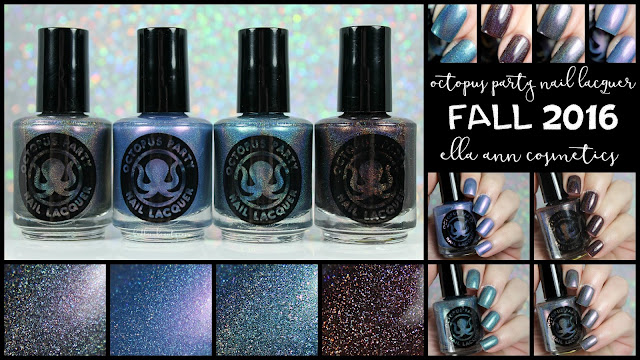 Octopus Party Nail Lacquer for Ella Ann Cosmetics Fall 2016