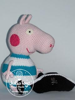 Peppa Pig E George Pig Amigurumi - Crochê - R$ 149,00 em Mercado Livre | 320x240