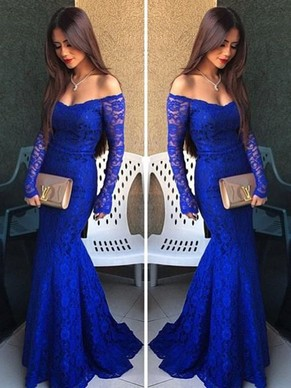 off shoulder and mermaid dress for prom