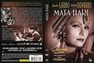 Carátula dvd: Mata Hari (1931)