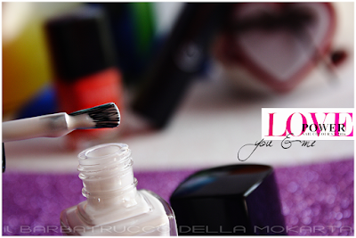 "Nail polish ""You & Me ""  nails lipstick -  Love Power Collection - TNS Cosmetics"