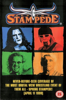 WCW Spring Stampede 1999 - Event poster