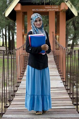fashion hijab anak kampus model 7