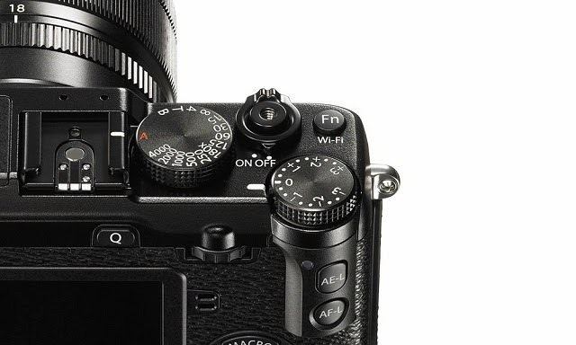 Dettaglio della Fujifilm X-E2