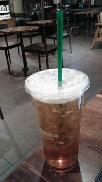 Trenta Iced Green Tea