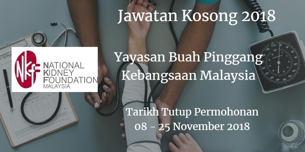 Jawatan Kosong NKF 08 - 25 November 2018
