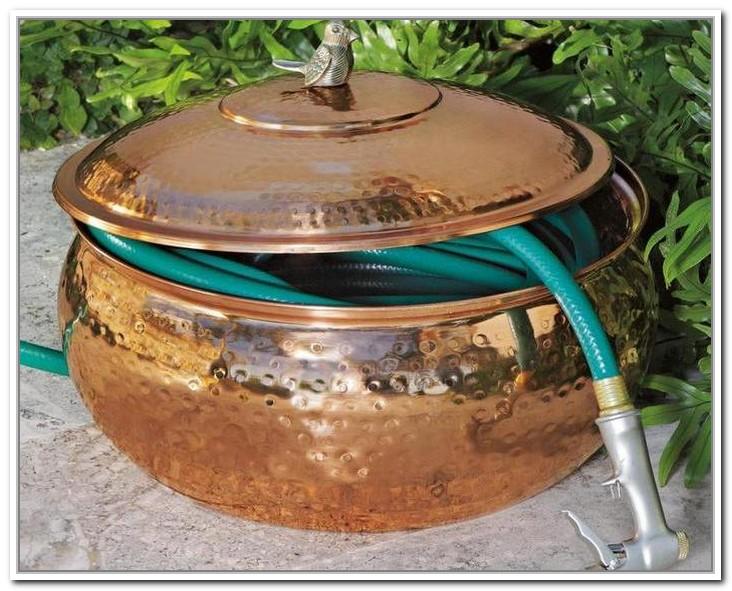 Diy Copper Hose Pot