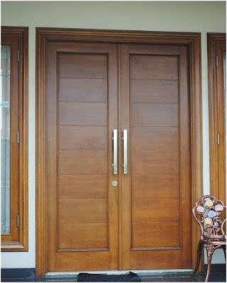 Model Pintu Utama Rumah Minimalis 2018 1