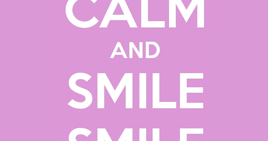 Interesting Inspirational Quotes: Keep Calm And Smile