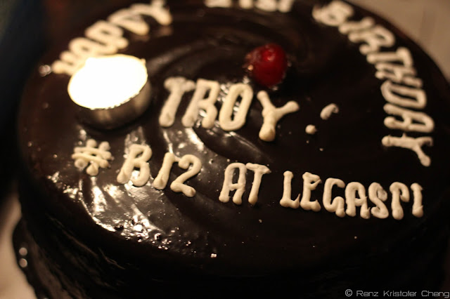 Troy Palanca's Birthday Cake
