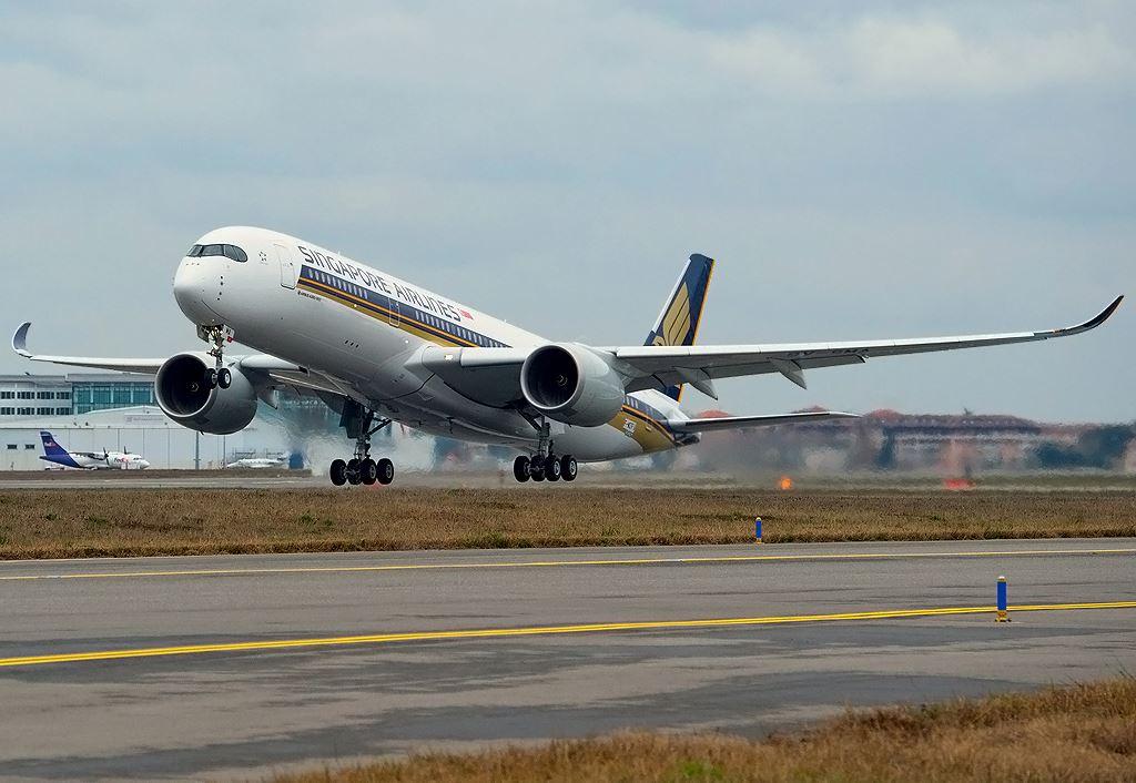 싱가포르항공 A350ULR
