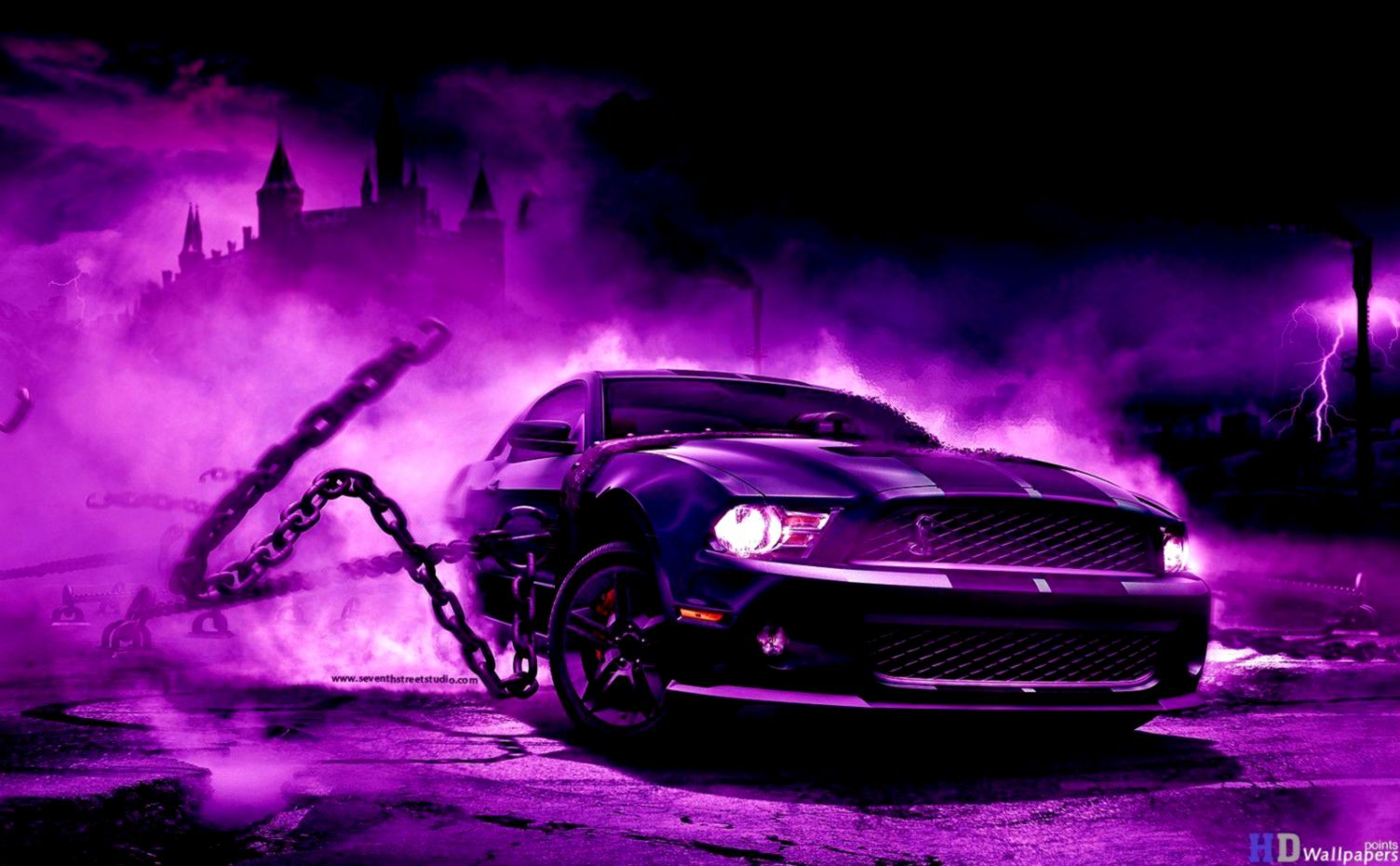 Cool 3D Wallpaper Purple | Nababan Wallpapers