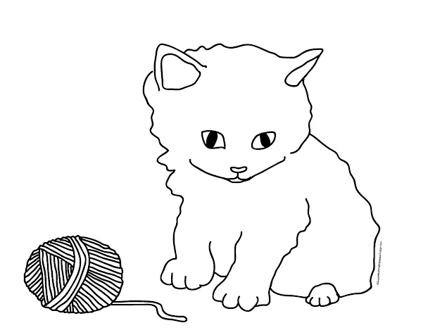 Free Coloring Pages Of Dogs And Cats : Unique dog and cat coloring pages drawing big collection free