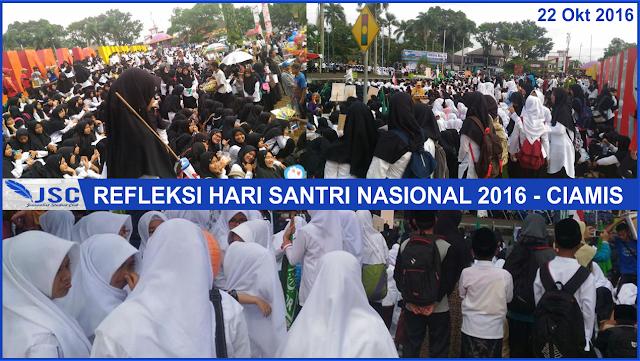 Hari Santri Nasional Ciamis, JSC MAN Darussalam