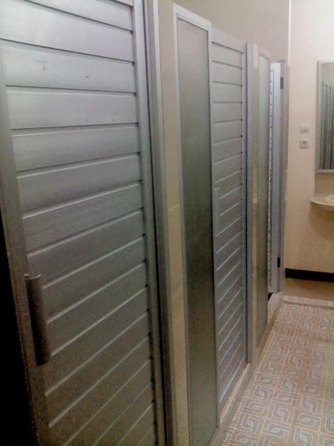 Pintu kamar mandi aluminium