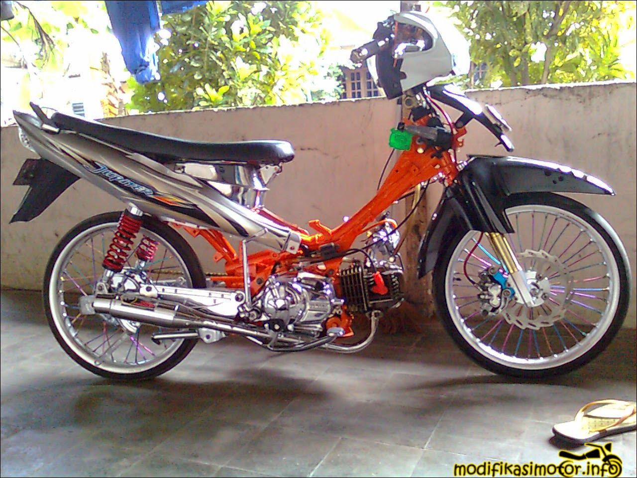 Gambar  Foto Modifikasi Motor Yamaha Jupiter Z Terbaru