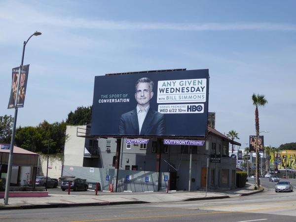 Any Given Wednesday HBO series premiere billboard